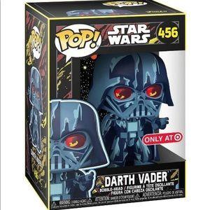 NWT Funko POP Star Wars Retro Darth Vader 456